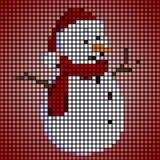 Little snowman Royalty Free Stock Images