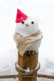 Little snowman Stock Photos