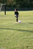 Little Soccer Player Stock Photo