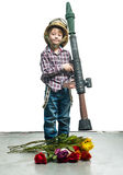 Little soldier Royalty Free Stock Image