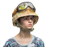 Little soldier Royalty Free Stock Images