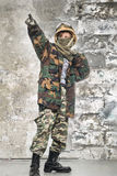 Little soldier Royalty Free Stock Photo