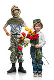 Little soldiers Royalty Free Stock Photo