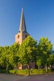 Little som är kyrklig i Holland arkivbilder