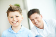 Little son Royalty Free Stock Images