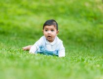 Little Spanish boy Stock Photography