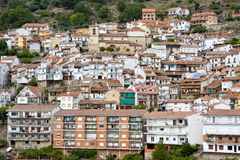 Little Spanish Medieval Town Stock Photography
