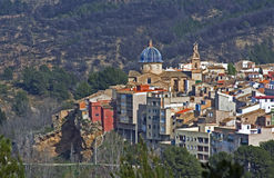 A little spanish village Royalty Free Stock Image