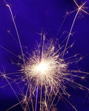 Little sparklers fireworks Royalty Free Stock Photography