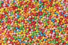 Little speckles or discodip balls closeup Royalty Free Stock Photography