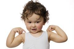 Little sportsman. Stock Photography