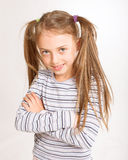 Little sporty girl Stock Photo