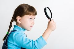 Little spy Stock Image