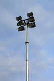 Little stadium lights Stock Photography