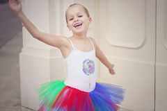 Little star ballerina Stock Photos