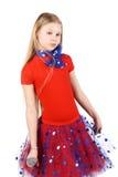 Little star girl Stock Photography