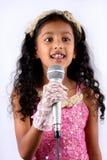 Little Star Singer Stock Photos