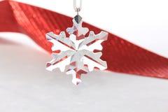 Little star. Small crystal star Christmas ornament Stock Photography