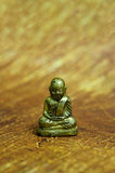 Little Statue of Monk Royalty Free Stock Photos