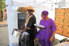USA, Arizona/Art Festival: Little Steelband  Stock Photos