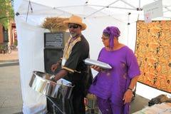 USA, Arizona/Art Festival: Little Steelband  Stock Photos