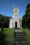 Little stone church in the irish country Royalty Free Stock Photo