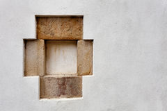 Little stone frame Royalty Free Stock Photography