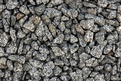 Little stone texture. Little grey granite stone texture Stock Photography