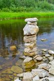 Little stone tower royalty free stock photography