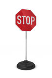 Little stop sign Royalty Free Stock Image