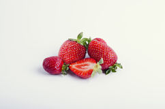 Little strawberries Royalty Free Stock Photo
