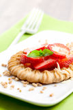 Little strawberry cake Stock Image