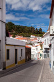 Little street in Monchique, Portugal Stock Photography