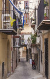 A little street in Sicily. Royalty Free Stock Images