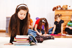 Little student Stock Images