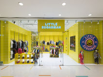 Little Sugarman childrens clothing in Ocean Terminal, Hong Kong Royalty Free Stock Image