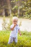 Little summer boy Stock Images