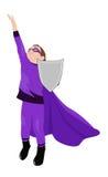 Little super hero Stock Image