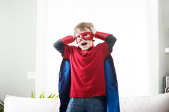 Little super hero Royalty Free Stock Image