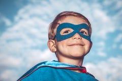 Little superhero Royalty Free Stock Images