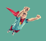 Little Superhero. A little superhero ready to save the world Stock Image