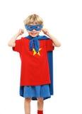 Little Superhero Stock Photos