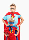 Little Superheroes Royalty Free Stock Image