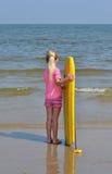 Little Surfer Stock Image