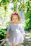 Little sweet girl. royalty free stock photo