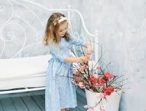 Little sweet girl Stock Photography