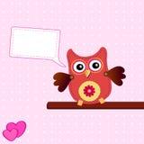Little sweet owl Stock Image