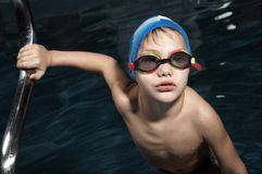 Little Swimmer Stock Image