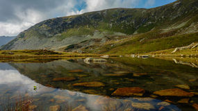 Little Tarn below the Hill Royalty Free Stock Photos