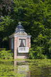 Little teahouse near landhouse. Little teahouse at the waterside Stock Images